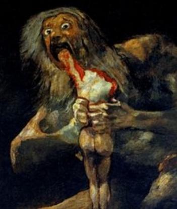 Chronos, by Goya