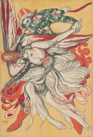 le769on_bakst_drawing_the_firebird