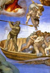 charon-boatman-michelangelo